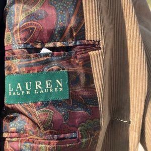 Lauren Ralph Lauren Suits & Blazers - LAUREN Ralph Lauren Tan Corduroy Blazer, like new!